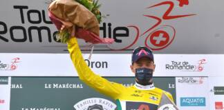 Classement général après l'étape 1 du Tour de Romandie 2021