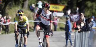 Tadej Pogacar prend le dessus sur Primoz Roglic lors de la 3e étape du Tour du Pays-Basque
