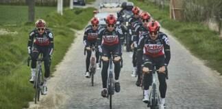 Les Lotto Soudal au départ du Tour des Flandres 2021
