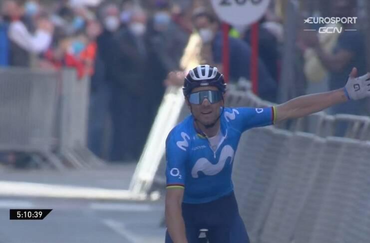 Alejandro Valverde vainqueur avec autorité du GP Miguel Indurain