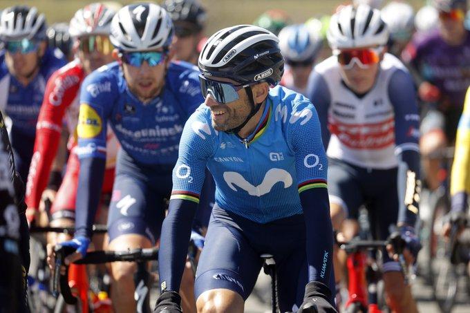Alejandro Valverde sur les ardennaises 2021 !