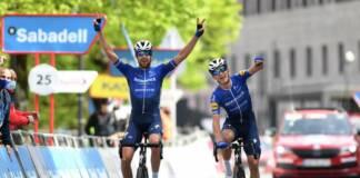 Arrivée de la 5e étape du Tour du Pays-Basque 2021