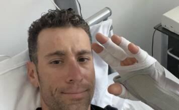 Vincenzo Nibali s'est blessé à quelques jours du départ du Giro 2021, dont sa participation est compromise