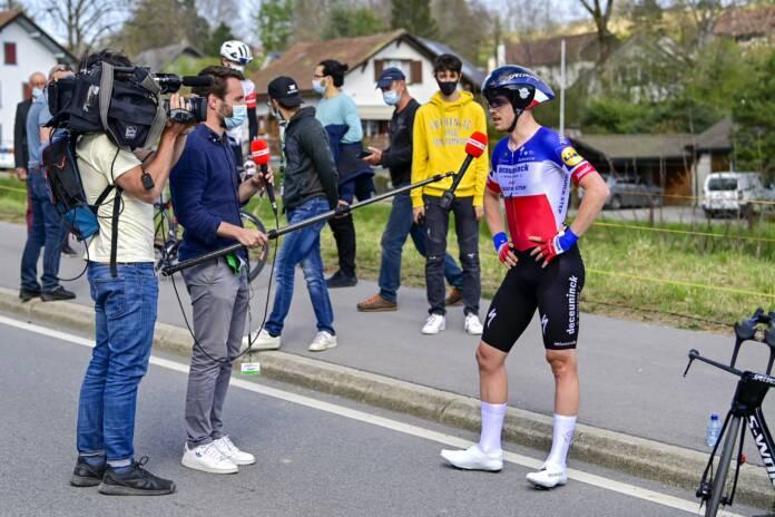 Le classement de la 5e étape du Tour de Romandie 2021 remportée par le Français Rémi Cavagna
