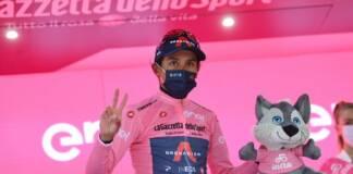 Egan Bernal a remporté en solitaire la 16ème étape du Giro 2021