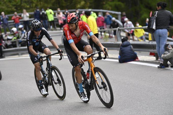Damiano Caruso à l'assaut de sa première victoire sur le Giro 2021