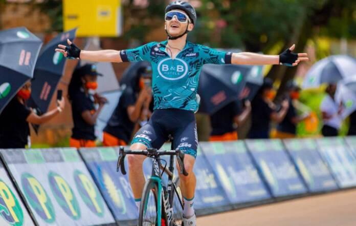 Alain Boileau (B&B Hotels) a remporté la 2e étape du Tour de Rwanda 2021