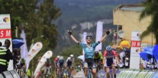 Alan Boileau continue sur son incroyable lancée au Tour du Rwanda