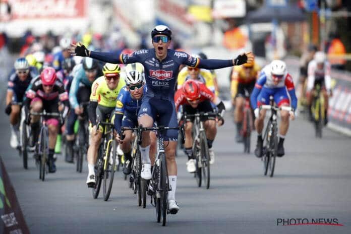 L'équipe Alpecin-Fenix pour le Giro 2021