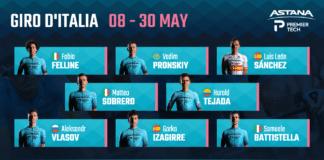 Giro 2021 : Astana-Premier Tech autour d'Aleksandr Vlasov sur le 104e Tour d'Italie
