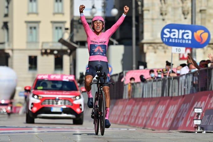 Egan Bernal lauréat du Giro 2021