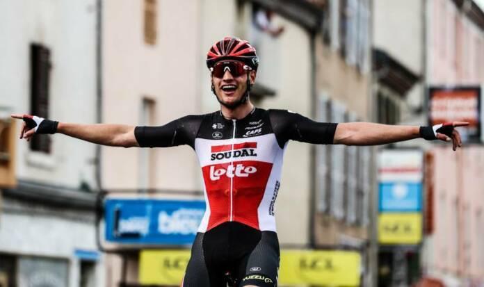 Critérium du Dauphiné 2021 : Brent Van Moer remporte la 1e étape