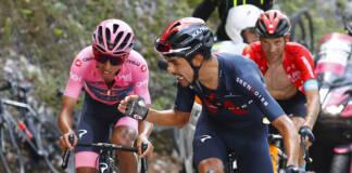 Giro 2021 : Le classement général complet après la 17e étape du 104e Tour d'Italie