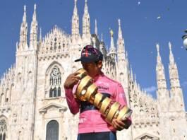 Giro 2021 : Le classement général final remporté par Egan Bernal