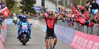 Damiano Caruso finit fort le Giro 2021