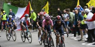 Egan Bernal mène au général du Giro 2021