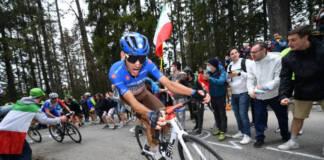 Au Giro 2021, Bouchard s'adjuge le classement de la montagne