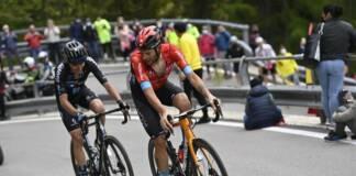 La 20e étape du Giro est revenu à Damiano Caruso