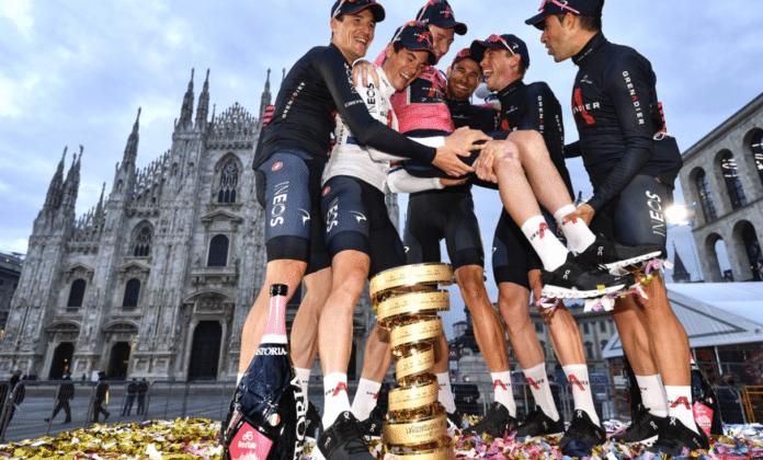Le Giro 2021 sur Eurosport Player