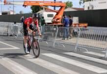 Kasper Asgreen sort vainqueur du chrono du Tour d'Algarve