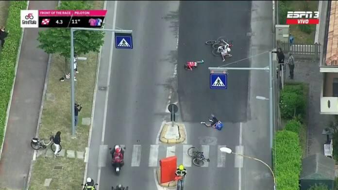 Mikel Landa abandonne sur le Giro 2021 à cause d'une chute