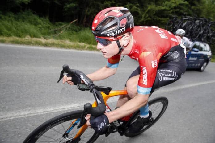 Matej Mohoric sur le vélo d'ici une semaine