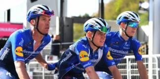 Remco Evenepoel ne finira pas le Giro 2021