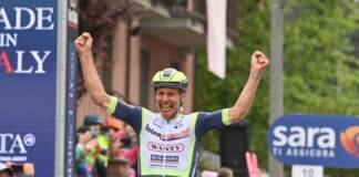 Au Giro, le baroudeur Taco van der Hoorn s'est illustré