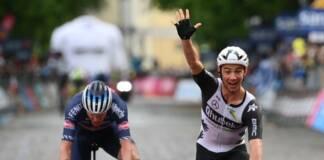 Victor Campenaerts gagne une étape en ligne du Giro