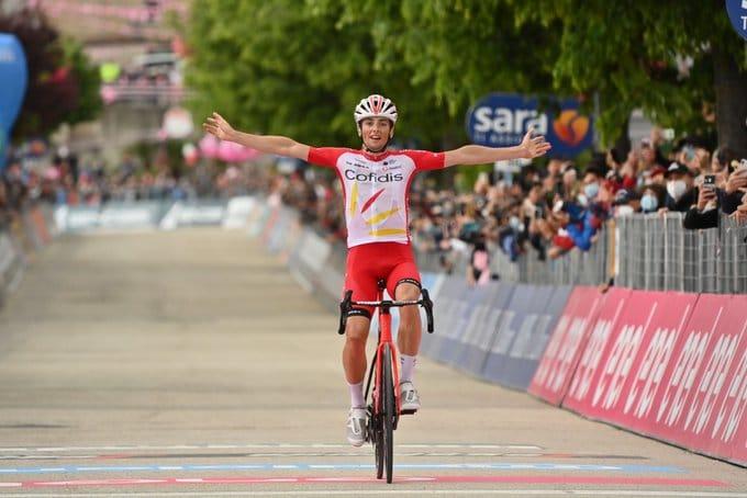 Victor Lafay apporte une première victoire à la France sur ce Giro 2021