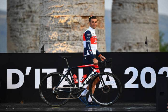 Giro 2021 : Vincenzo Nibali au départ
