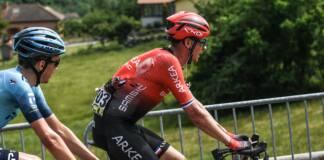Warren Barguil chute sur la 3e étape du Critérium du Dauphiné