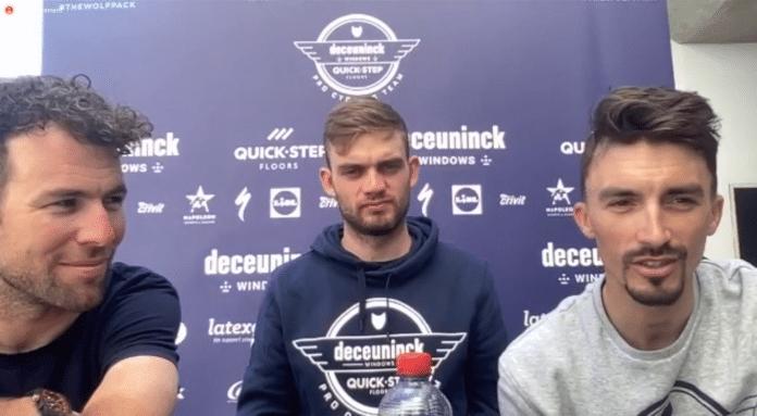 Tour de France 2021 : Julian Alaphilippe en conférence de presse