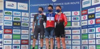 Audrey Cordon-Ragot championne de France du contre-la-montre 2021