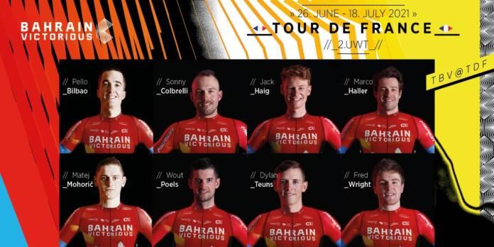 Bahrain Victorious compte sur la force de son collectif pour briller au Tour de France 2021