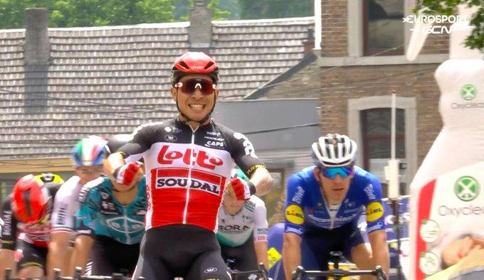 Caleb Ewan s'illustre à nouveau au Tour de Belgique 2021