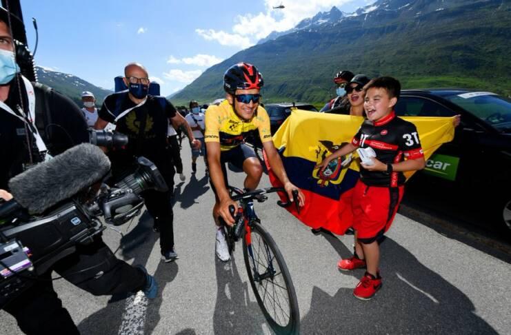 Richard Carapaz solide toute la semaine sur le Tour de Suisse 2021