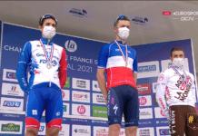 Le classement du championnat de Frabce 2021 remporté par Rémi Cavagna