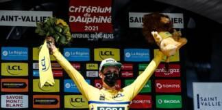 Critérium du Dauphiné 2021 : Classement général après la 5e étape