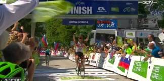 Diego Ulissi remporte l'étape reine du Tour de Slovénie 2021 devant Pogacar