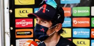 La réaction de Geraint Thomas, vainqueur de la 5e étape du Critérium du Dauphiné 2021