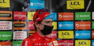 Critérium du Dauphiné 2021 : La réaction de Mark Padun après la 7e étape
