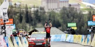 Sur le Critérium du Dauphiné 2021, Mark Padun étonne