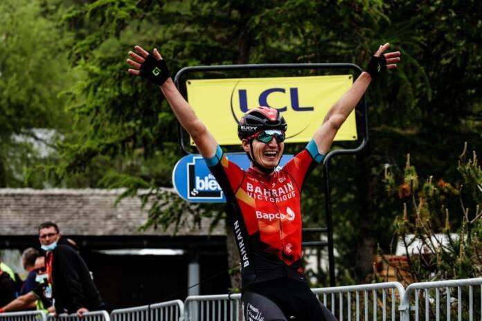 La fin du Critérium du Dauphiné 2021 marquée par la performance de Mark Padun