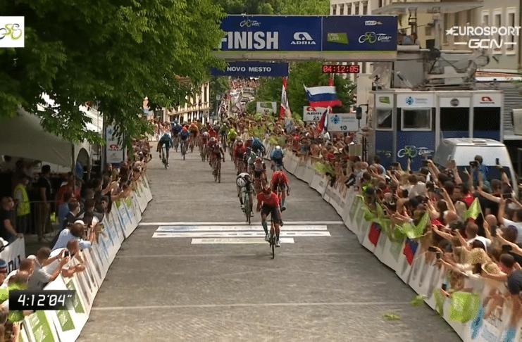 Phil Bauhaus remporte la 5e étape du Tour de Slovénie 2021