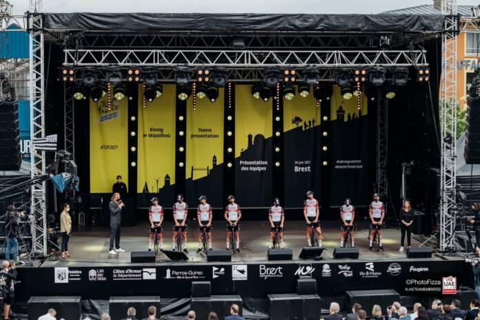 Tour de France 2021 : Vidéo de la présentation des équipes