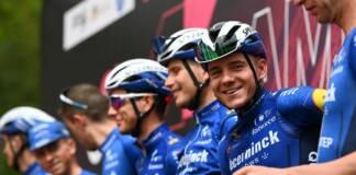 Remco Evenepoel de retour après son abandon sur le Giro 2021