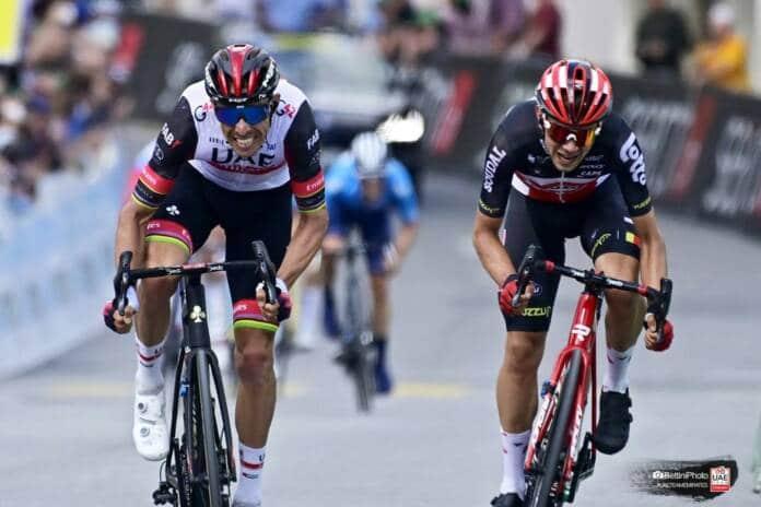 Rui Costa déclassé sur le Tour de Suisse 2021