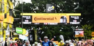 Mark Cavendish règle au sprint la 4e étape du Tour de France 2021