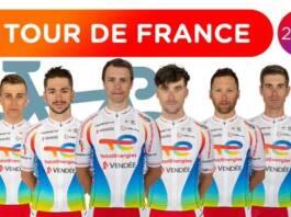 Le Team Total Energies vise la victoire d'étape pour le Tour de France 2021